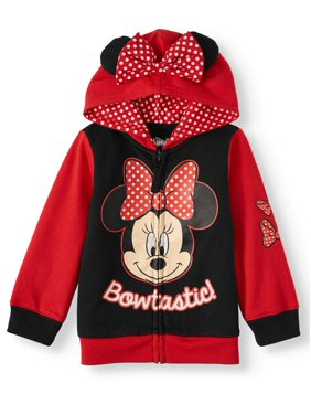 Minnie Mouse Costume Zip Hoodie (Toddler Girls)