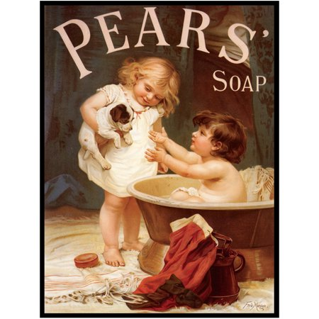 Pears Soap Decorative Metal Sign