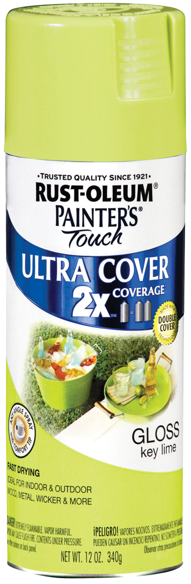 Painter's Touch Ultra Cover Aerosol Paint 12oz-Key Lime