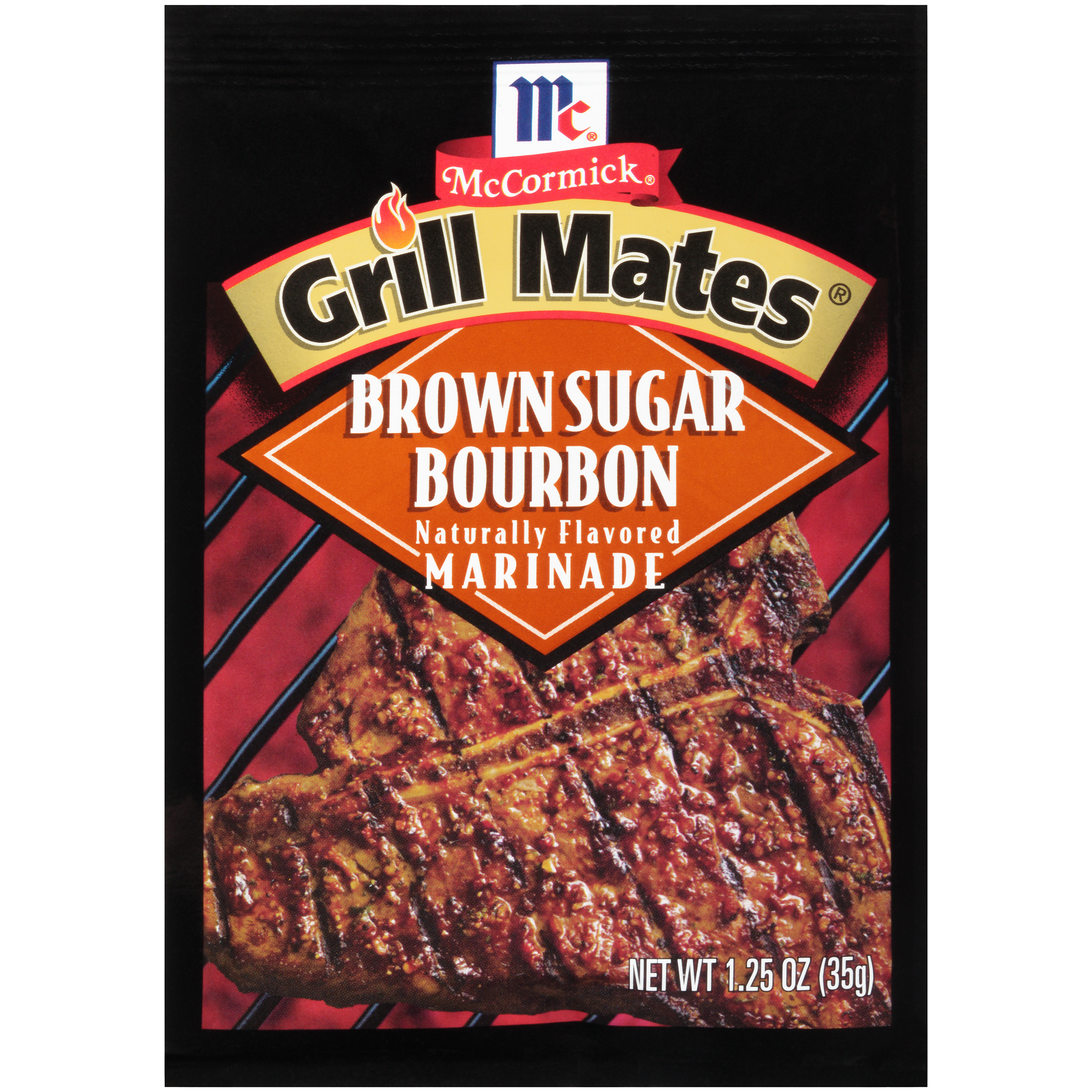 McCormick® Grill Mates® Brown Sugar Bourbon Marinade 1.25 oz. Packet