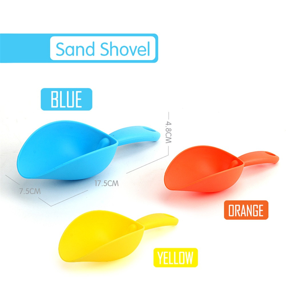 Womail Play Sand Water Toys Tool Sand Shovel Summer Toys Beach Bath Toy Gift For Kids by