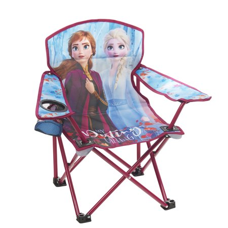 Disney Frozen 2 Kids Camping Chair with Anna and Elsa ()