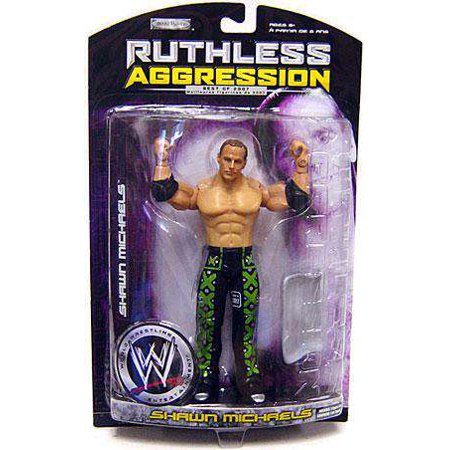 Shawn Michaels Action Figure Ruthless Aggression Best of 2007 Series