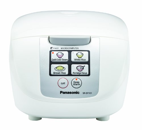 """Panasonic SR-DF101 5-Cup (Uncooked) """"Fuzzy Logic"""" Rice Cooker"""