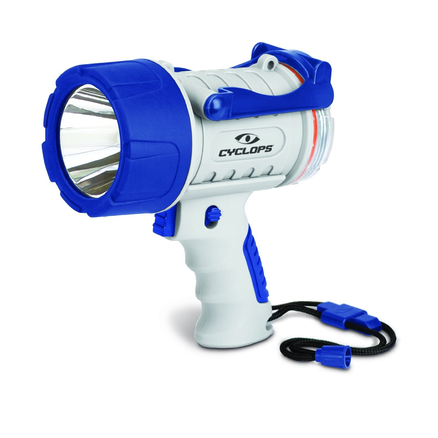 Cyclops 300 Lumen Rechargeable Waterproof Spotlight, Marine
