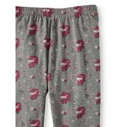 042ebfcce Pink Velvet - Unicorn Print and Solid Leggings, 2-Pack (Little Girls ...