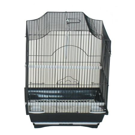Medium Bird (YML Cornerless Flat Top Bird Cage - Medium)