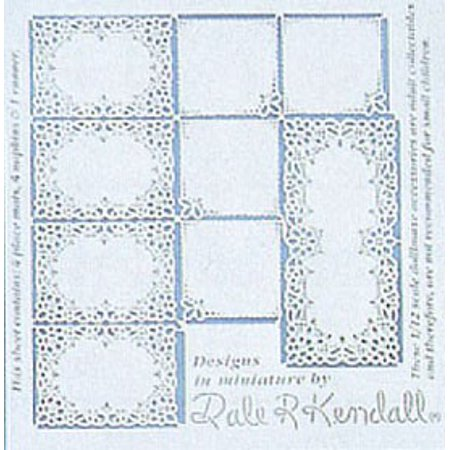 Dollhouse Placemats, Napkins & Runner