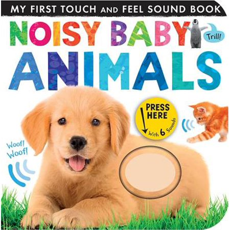Noisy Baby Animals (Board Book) - Great Halloween Books For Toddlers