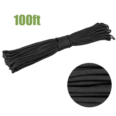 100 Feet 550 Paracord Hike Outdoor Tactical Cord Climbing Camping Braided Rope