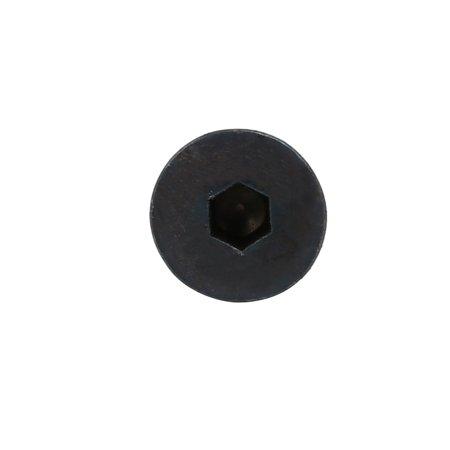 2pcs M4x12mm classe 10.9 Boulon fileté tête plate à six pans creux - image 1 de 3