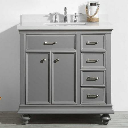 Alcott Hill Weisner 36 Bathroom Vanity Set