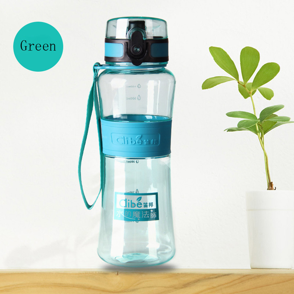NEW Portable 450ML Water Bottle Hiking Cycling Water Drinking Bottle Cup