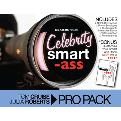 Celebrity Smart Ass Bundle  Tom Cruise And Julia Roberts  By Bill Abbott