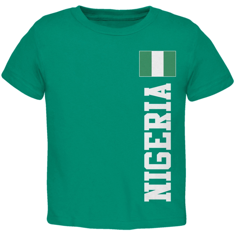World Cup Nigeria Green Toddler T-Shirt