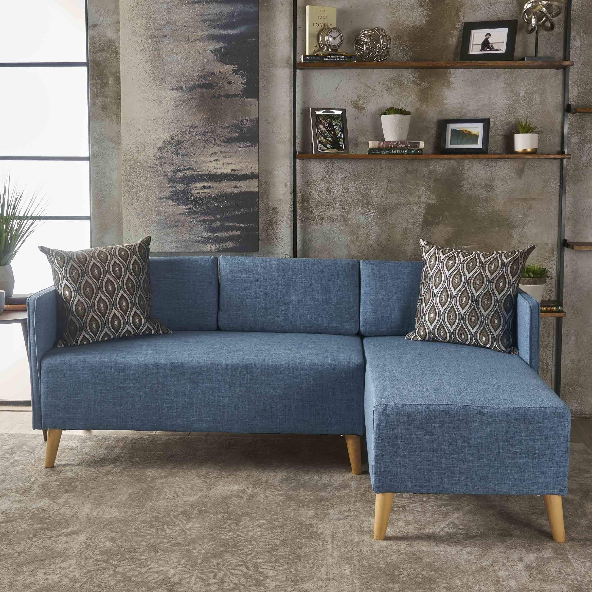 Awesome Christopher Knight Home Augustus Modern 2 Piece Chaise Sectional Sofa Set By Andrewgaddart Wooden Chair Designs For Living Room Andrewgaddartcom