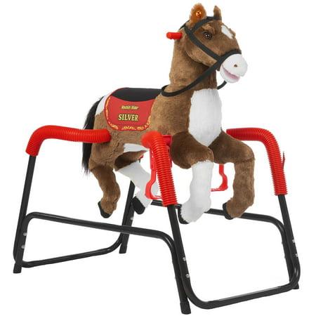 Rockin Rider Silver Spring Horse