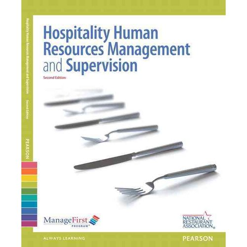Hospitality Human Resources Management and Supervision