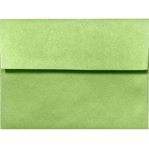 A2 Invitation Envelopes 4 3 8 X 5 3 4 Fairway Green Metallic