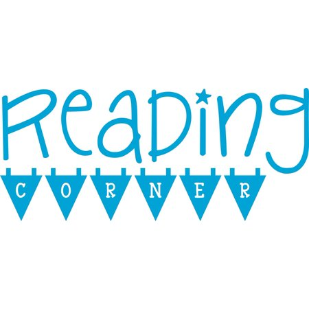 Reading Corner / Nook Wall Decoration - Great for Library, School, Elemtery Teachers, Family Room Nook, Classrooms| Vinyl Sticker / Decal For Home Decor - - Classroom Decorating Ideas