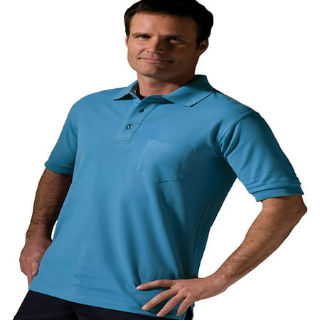 Driver Short Sleeve Pique Shirt - Edwards Big And Tall Short Sleeve Pique Pocket Shirt, Style 1505