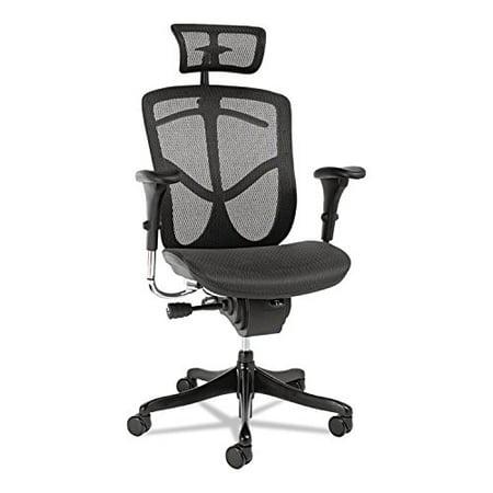 Alera ALE EQ Series Headrest, Mesh, Black - image 5 de 5