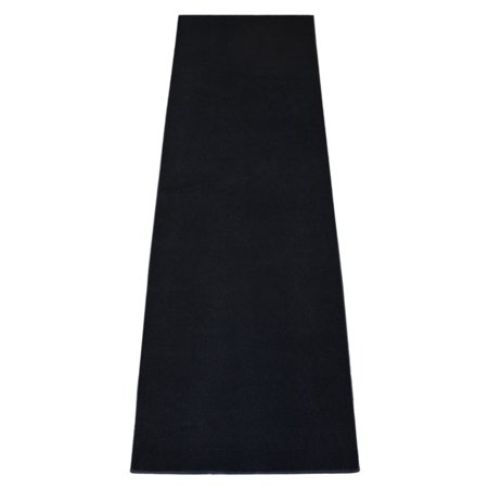 Dean Panther Black Carpet Runner - Indoor/Outdoor Patio Deck Boat RV Grill Entrance Carpet/Runner Rug Mat - Size: 2' x 15' ()