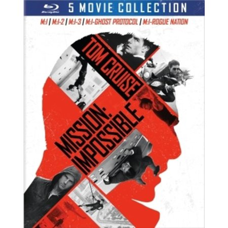 Mission: Impossible 5-Movie Collection Blu-ray (Best Mission Impossible Episodes)