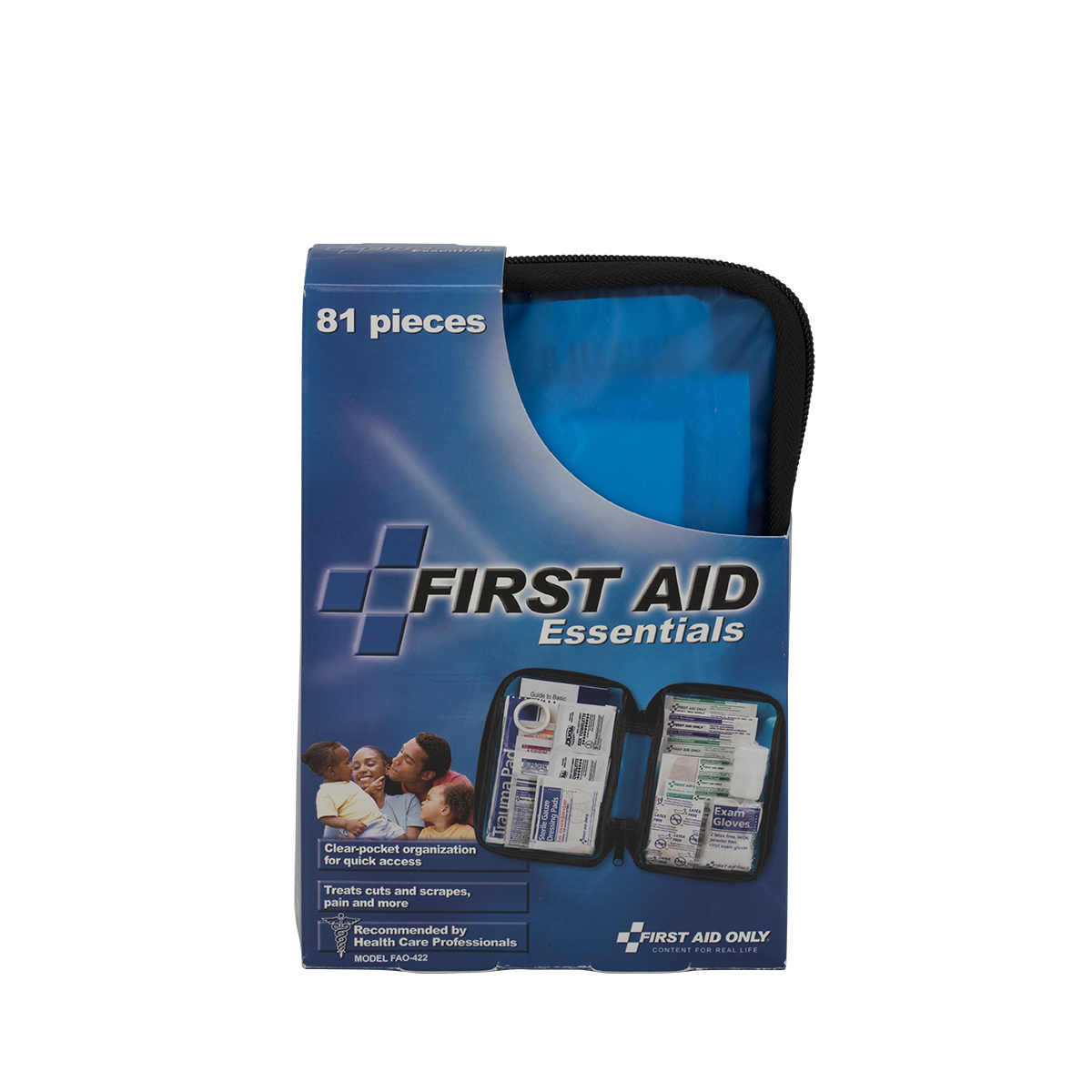 First Aid Only 80 Piece First Aid Kit, Fabric Case by ACME UNITED CORPORATION