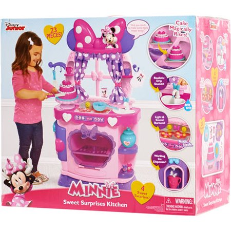 Minnie Mouse Kitchen Disney Bow Tique Sweet Surprises Toys