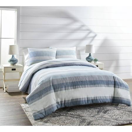 Better Homes & Gardens Full or Queen Bold Stripe Comforter Set, 3