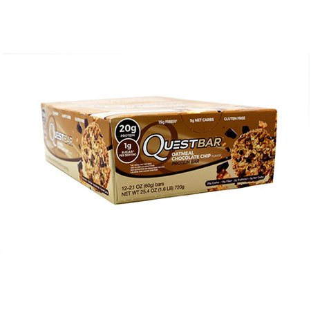 Quest Bars Oatmeal Chocolate Chip Amazon