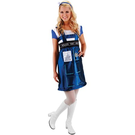 Doctor Who TARDIS Adult Halloween Costume](Doctor Who Halloween Costume Easy)