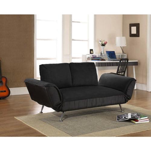 atherton home taylor convertible futon sofa bed - walmart