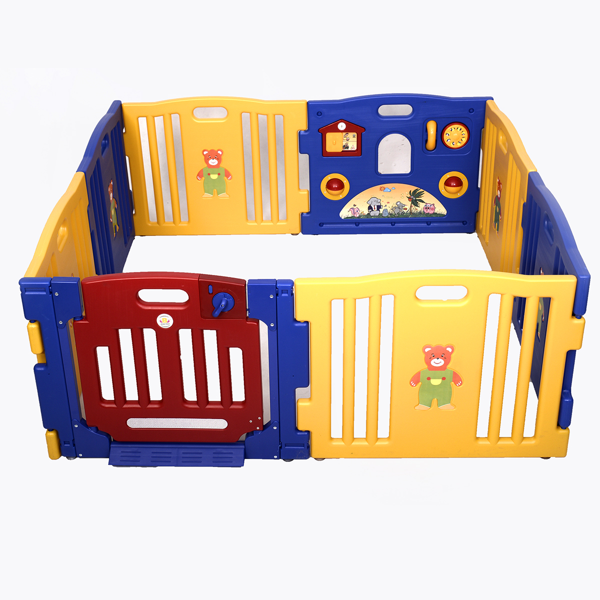 Costway Baby Playpen Kids 8 Panel Safety Play Center Yard Home