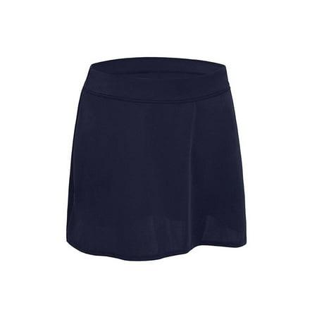Womens Plus Size Swim Suit Bottoms- High Waist Skirt Bikini Skort