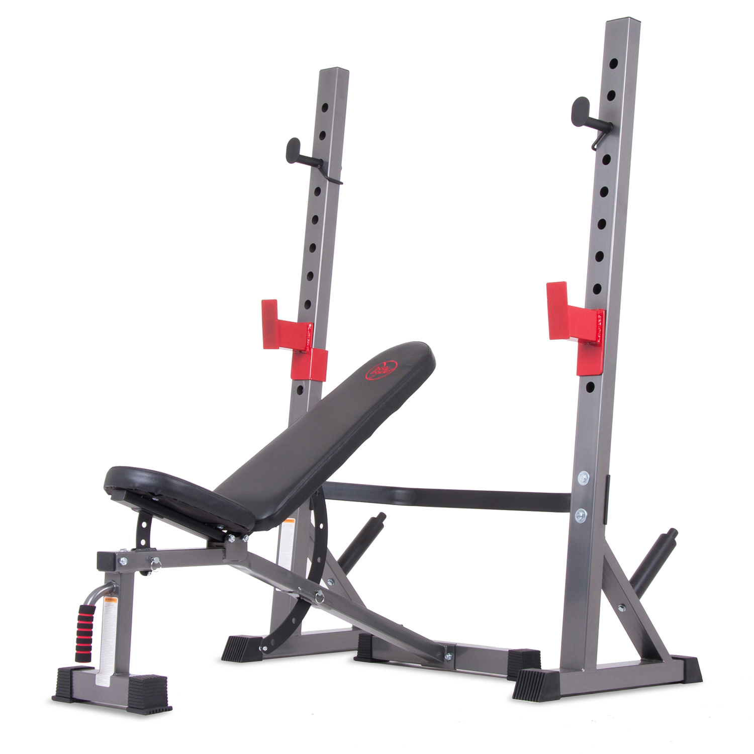 Body Champ BCB5280 Two Piece Set Olympic Weight Bench with Squat Rack by HUPA International Inc