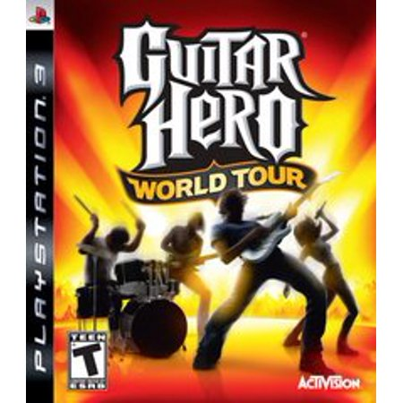 Guitar Hero World Tour - Playstation 3 (Refurbished) - This Is Halloween Guitar Hero 3