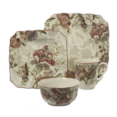 222 fifth gabrielle 16 piece dinnerware set for 222 fifth dinnerware