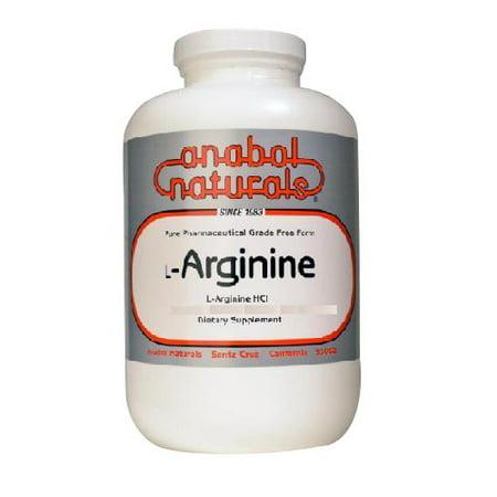 Anabol Naturals L-Arginine 500mg poudre pure avec la vitamine B-6 - 100 g