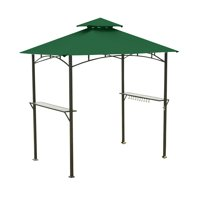 Garden Winds Replacement Canopy Top Cover for the Mainstays Grill Shelter Gazebo - Green