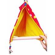 Bonka Bird Toys 1427 Peekaboo Bird Tent Bird Toy.
