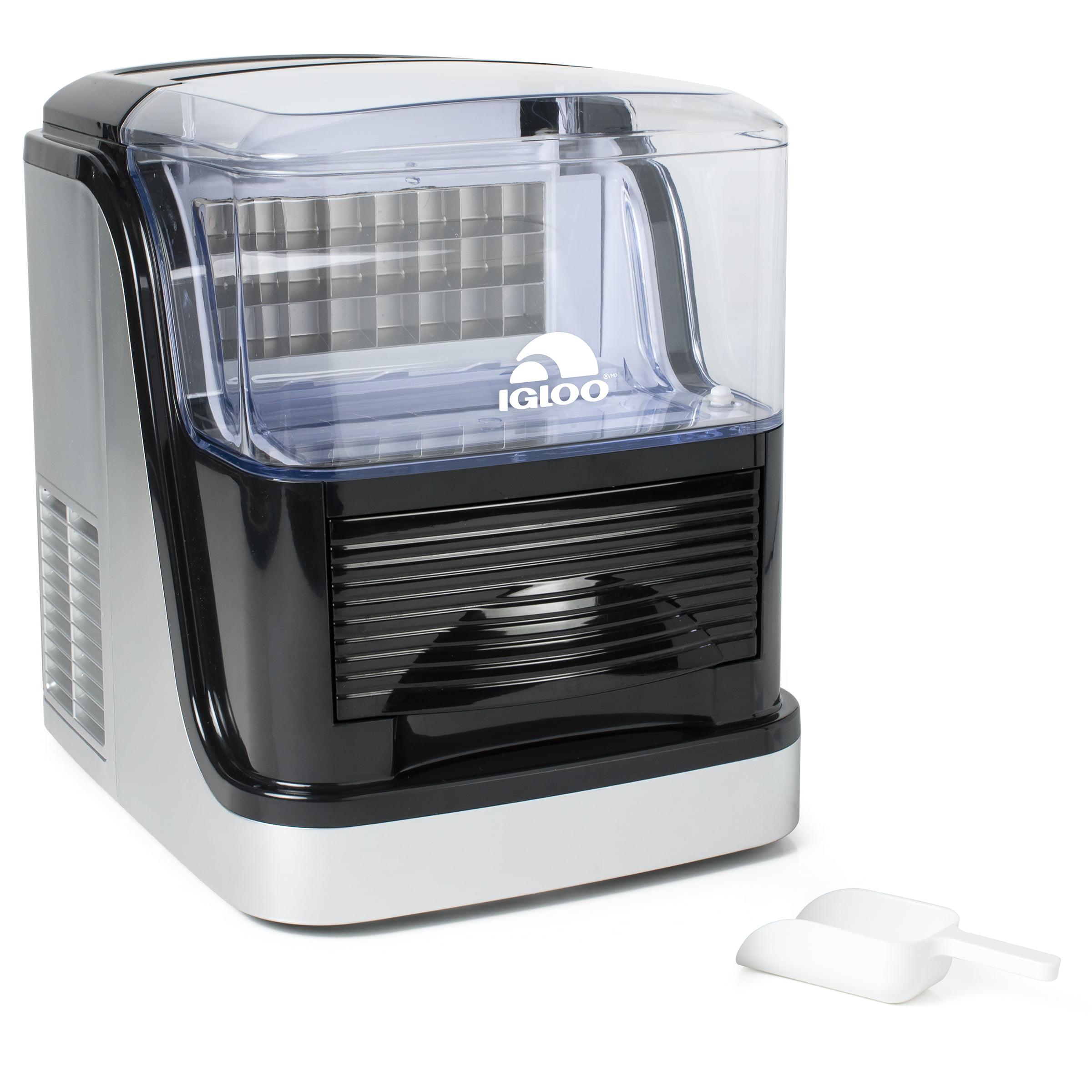 Igloo ICEC33SB Large Capacity Clear Ice Cube Maker