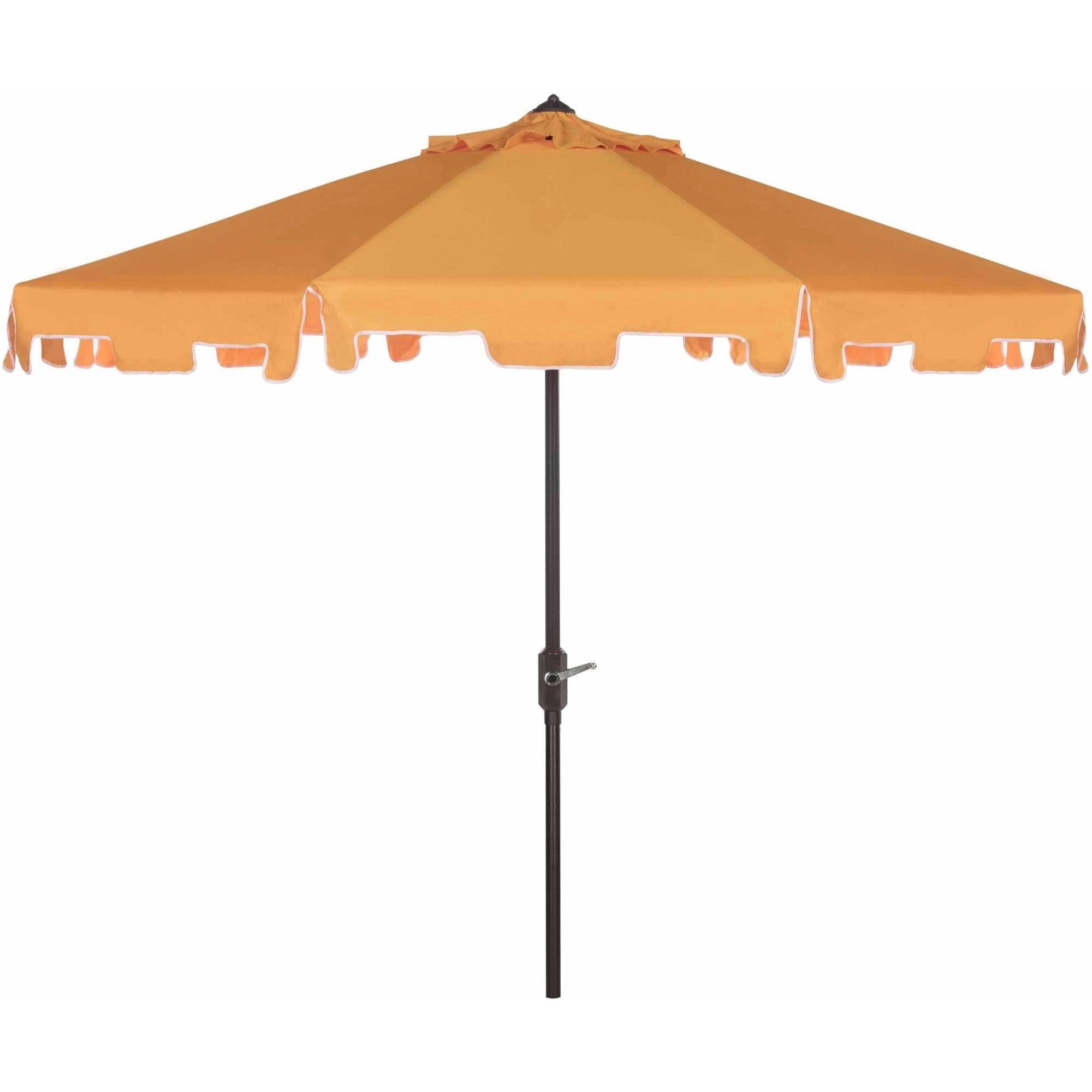 Safavieh Zimmerman Outdoor 9' Market Umbrella, Multiple Colors by Safavieh