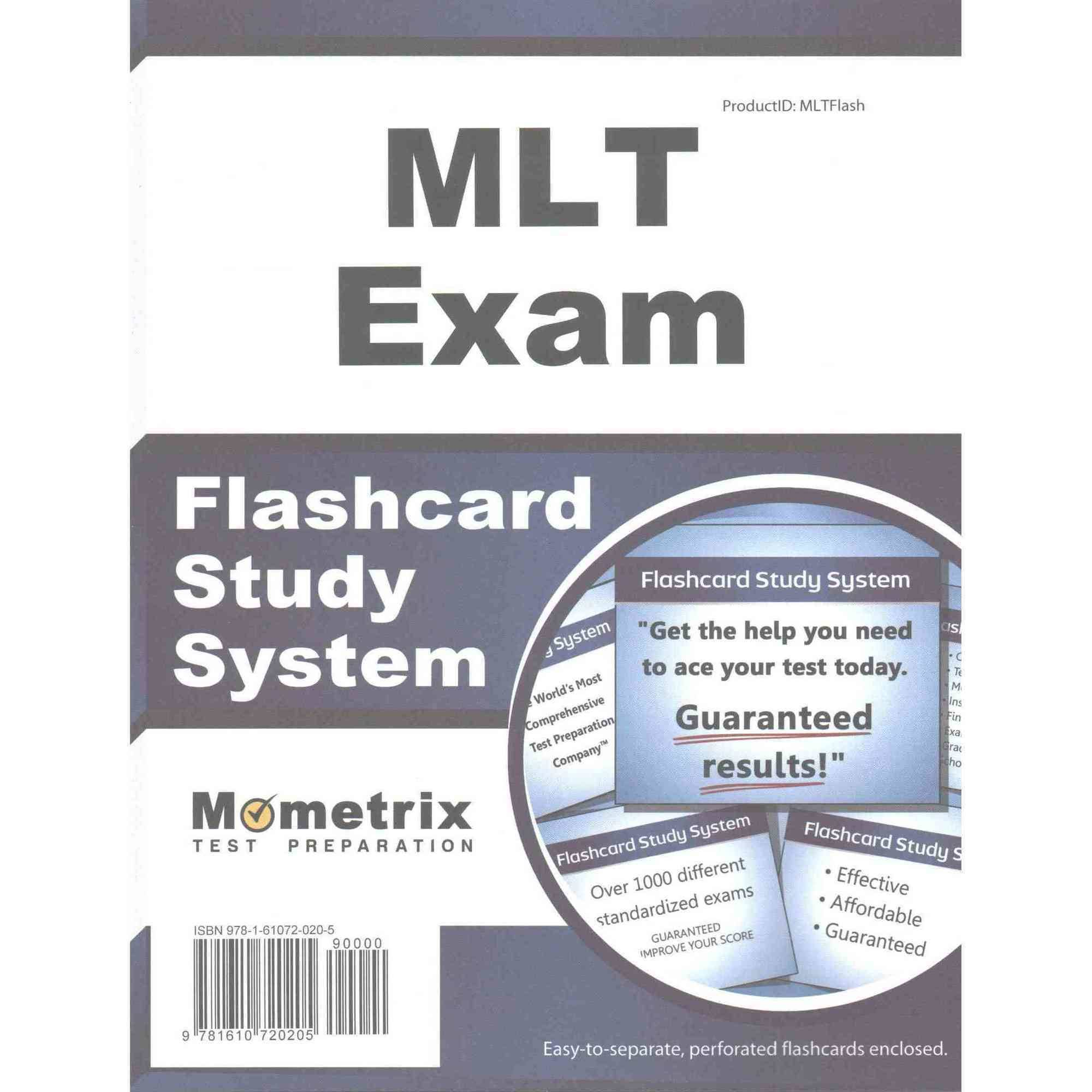 Mlt Exam Flashcard Study System: Mlt Test Practice Questions & Review for the Medical Laboratory Technician Examination