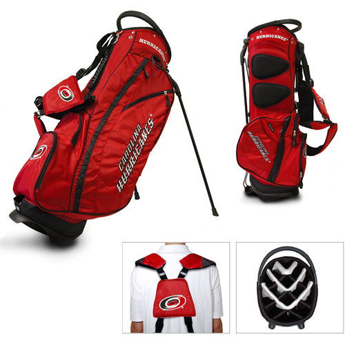 Team Golf NHL Carolina Hurricanes Fairway Golf Stand Bag
