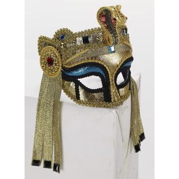DLX EGYPT.MASK W/GLASSES-FEMAL (Egyptian Jackal Mask)