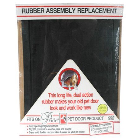 Pride Rubber Assembly Replacement Pet Door (Best Rubber Doors)