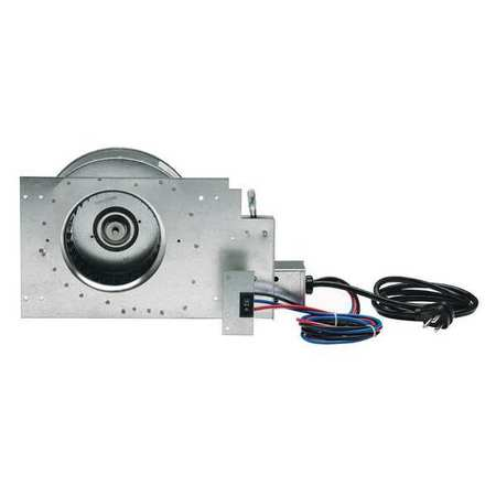 Blower,120V,Inside Unit,Galvanized Steel WILLIAMS COMFORT PRODUCTS 2102