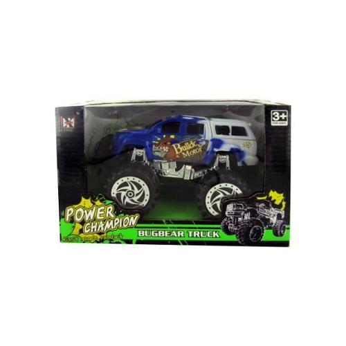 Friction Big Wheel Super Power Truck - Set of 3